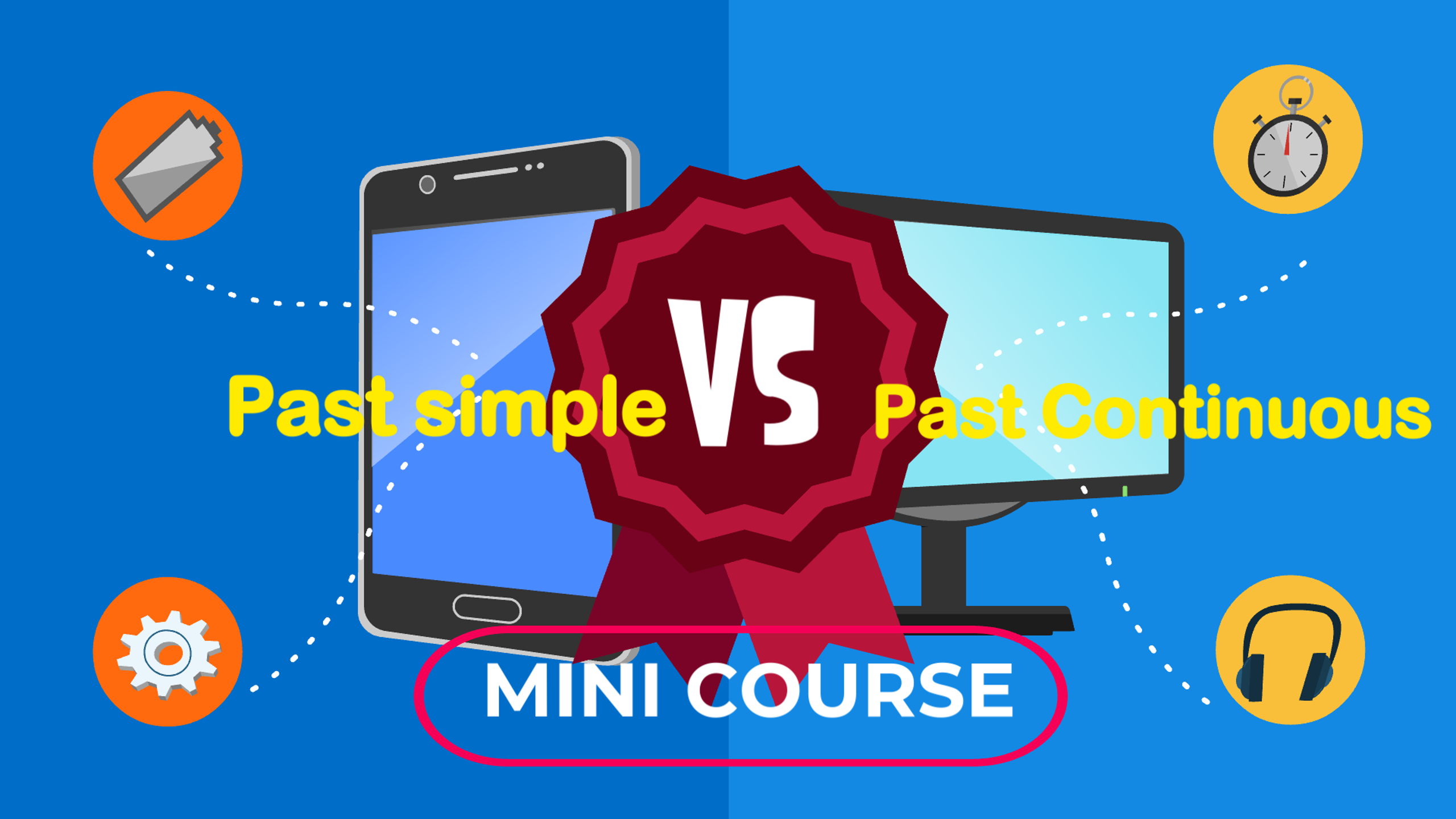past simple and past continuous mini course