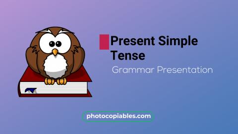 Present Simple Grammar Presentation
