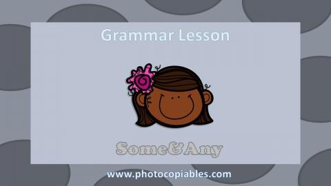 Some any Grammar Lesson slide 1