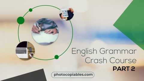 English Grammar Crash Course 2