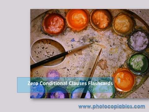 Zero Conditional Clauses_flashcards 1