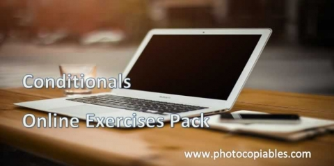 conditionals online exercise pack