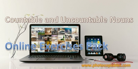 countables and uncountables online exercises pack