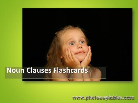 Noun Clauses Flashcards