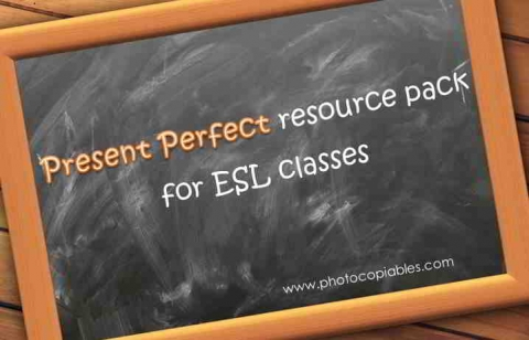 present perfect resource pack