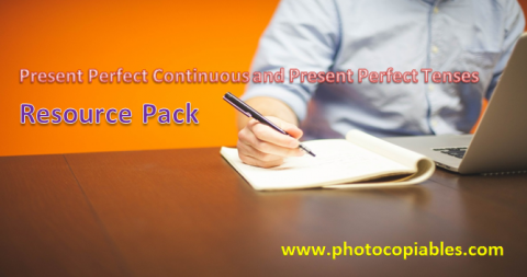 Present Perfect Continuous and Present Perfect Simple Resources Pack