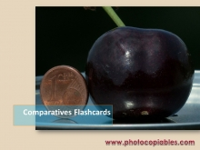 Comparatives flashcards
