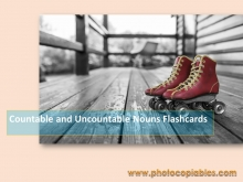 Countable and Uncountable Nouns Flashcards 1