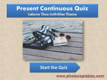 Present Continuous tense_consolidation_interactive exercise-front
