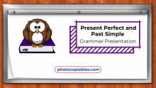 Past Simple and Present Perfect Grammar Presentation