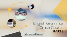 English Grammar Crash Course 1