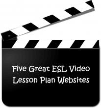 ESL video lesson l-plan websites
