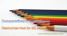 Comparatives and Superlatives Resources Pack