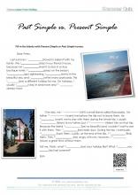 Past simple and present simple_grammar quiz