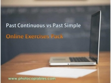 past continuous vs past simple_online resource pack