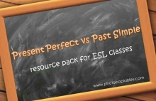 present perfect vs past simple resource pack